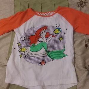 Girls Disney The Little Mermaid Shirt